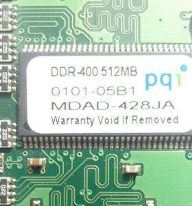 Оперативная память DDR1. 512 mb
