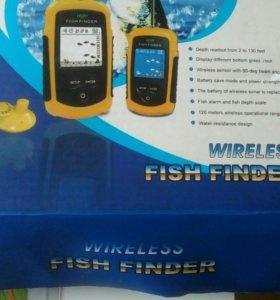 Эхолот для поиска рыбы БУ