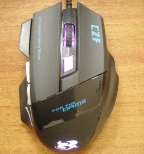 Мышь игровая светящаяся