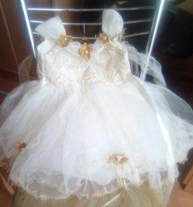 Платье на 6-12мес.
