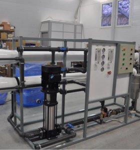 Система очистки воды. Производительность 5м3/ч