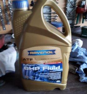 Масло Ravenol atf 6hp fluid 9 литров.
