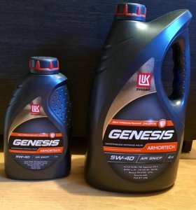 Моторное масло Лукойл Genesis Armortech 5W-40