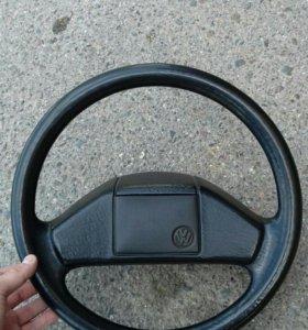 Руль как Новый!! VW Golf mk2