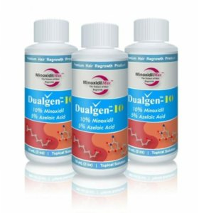DualGen (Миноксидил 10% + Азелаиновая кислота 5%)