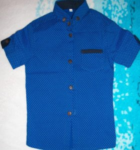 рубашка на мальчика 1-2 годика
