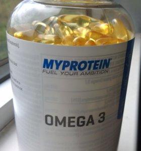 ОМЕГА 3 Myprotein, 250 шт.