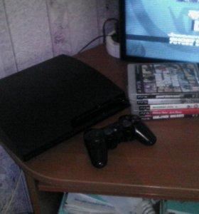 Sony Playstation 3 + 8 игр