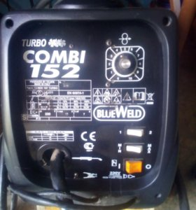 Сварочный аппарат blueweld combi 152 turbo