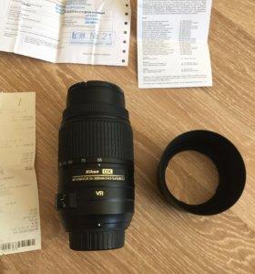 Nikon nikkor 55-300mm