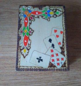 Игральные карты в коробке