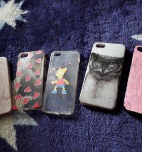 Чехлы для iphone 5s 5 se