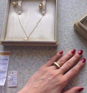 Ювелирный комплект из золота Pomellatto