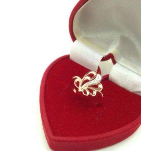 Золотое кольцо 2,1 гр