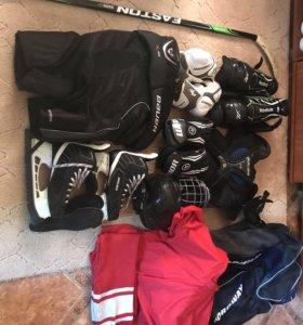 Полный комплект хоккейной формы XL