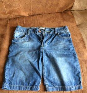Шорты джинсовые 11-13 лет