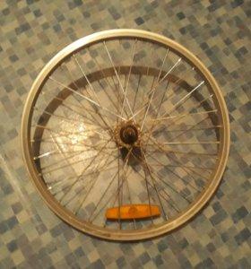 Диск от велосипеда.