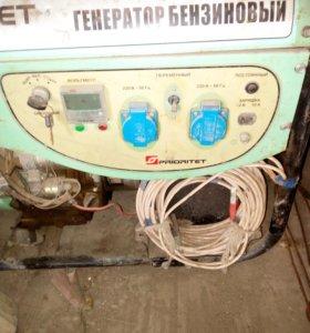 генератор бензиновый бэг 6.6е