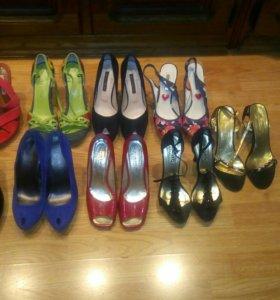 Босоножки и туфли 38 размер
