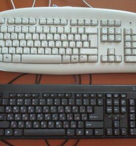 Клавиатура, новые и б/у, мышь