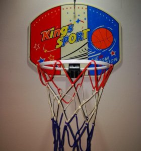 Баскетбольный мини щит с мячом