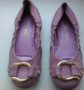 Juicy Couture балетки размер 34 б/у