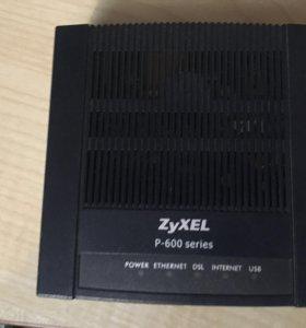 Модем zyxel P-660RU3EE