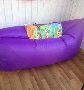 Лежак надувной