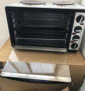 Электрическая плита с духовым шкафом