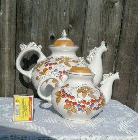 Фарфоровые чайники. Сысерть