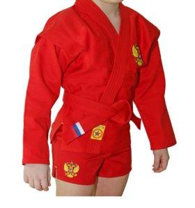 Куртка для борьбы Самбо (облегченная)
