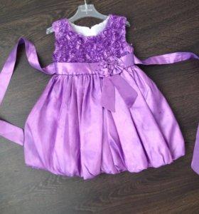 Платье на девочку на 1,5-2,5 года