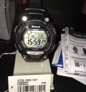 спортивные умные наручные часы Casio STB-1000-1EF