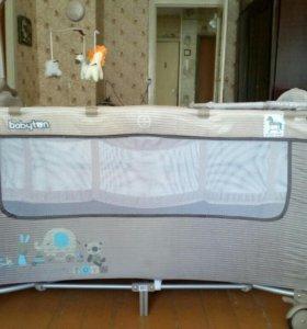 Кровать манеж детская новая
