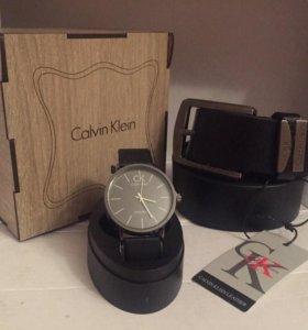 Часы + ремень + коробка