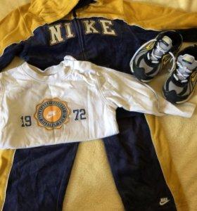 Спортивный костюм 3-ка Nike оригинал + кроссовки