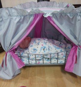 Кроватка для кукол.