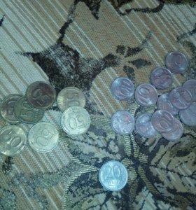 Монеты 1992, 1993 года