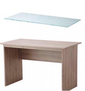 Стол Икеа с прочным стеклом