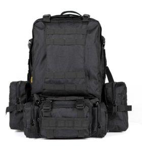 Тактический рюкзак 4 в 1 Cool Walker TK001 Черный