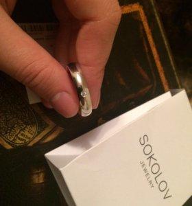 Мужское новое кольцо 21,5 размер
