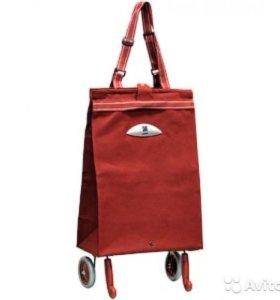складная сумка-тележка