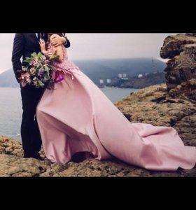 Модное платье от дизайнера Натальи Сваричевской
