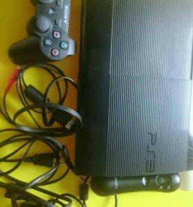 PlayStation 3 super slim, 500g, прошит