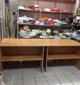 Столы для торговли или раскроя