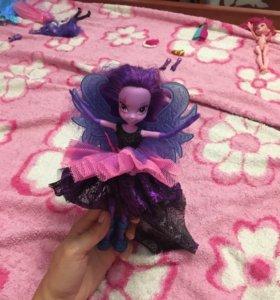 Кукла пони Искорка