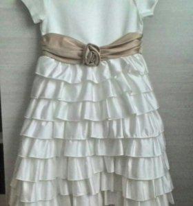 Нарядное платье на рост 116 см