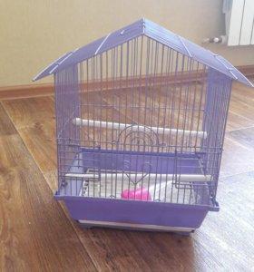 клетка для птицы.б.у. месяц