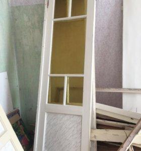 Двери межкомнатные 2. Со стеклом