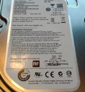 Жёсткий диск 250Gb sata